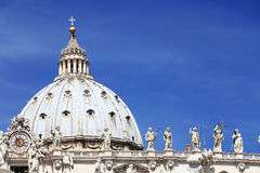Architectural detail of San Pietro Square Royalty Free Stock Photography