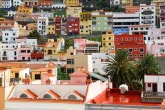 Architectural detail in San Sebastian de la Gomera royalty free stock images