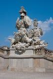 Architectural detail, Schonbrunn, Vienna. Stock Photo