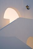 Architectural detail of a stairway Royalty Free Stock Images