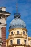 Architectural detail in Stockholm Royalty Free Stock Images