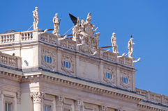 Architectural detail in Trieste royalty free stock photos