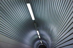Architectural detail of a tunnel Royalty Free Stock Photography