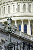 Architectural detail of US Capitol building Stock Image