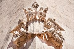 Architectural detail in Valencia,Spain Royalty Free Stock Photography