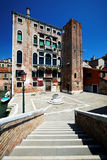 Architectural detail in Venice Royalty Free Stock Photography