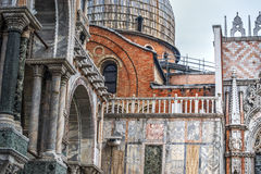 Architectural detail in Venice Stock Images