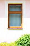 Architectural detail view of a modern window Stock Photography
