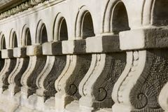 Architectural detail of the wall Royalty Free Stock Photo