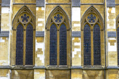 Architectural Detail of Westminster Abbey in London Stock Images
