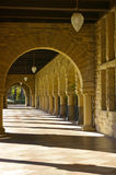 Architectural details. At Stanford University, California stock photo