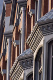 Architectural Details. Of a row of Victorian Townhouses Stock Photography