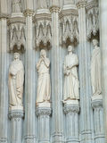 Architectural Details. Of a cathedral Stock Images