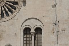 Architectural details, Baroque Stock Photo