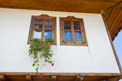 Architectural Details in the Bulgarian village of Zheravna Stock Images