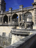 Chateau de Chantilly, French Castle  Royalty Free Stock Photo