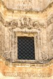 Architectural Details of Chiesa Madre in Buscemi - Province of Syracuse. Italy royalty free stock images