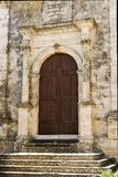 Architectural Details of Church of Carmen in Buscemi - Province of Syracuse. Italy royalty free stock photos