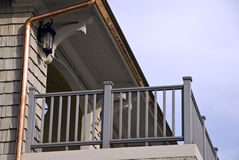 Architectural Details of Deck Stock Photo