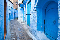 Architectural doorways of Morocco Stock Photography