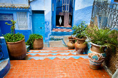 Doorways of Morocco Royalty Free Stock Images
