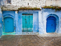 Architectural doorways of Morocco Stock Images