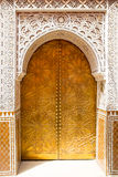 Architectural details and doorways of Morocco Royalty Free Stock Photos