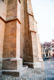 Architectural details from Evangelical Cathedral in Sibiu Royalty Free Stock Image