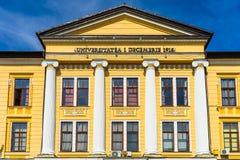 Free Architectural Details, Facade Of The Building Of The 1 Decembrie 1918 University, Alba Iulia, Romania, 2021 Stock Photos - 210817873