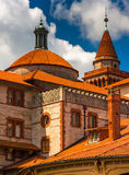Architectural details at Flagler College in St. Augustine, Flori Stock Photo