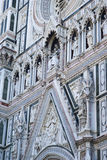 Architectural details of Florence Cathedral Stock Image