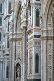 Architectural details of Florence Cathedral Stock Photo