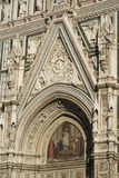 Architectural details of Florence Cathedral Royalty Free Stock Photo
