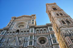 Architectural details of Florence cathedral Royalty Free Stock Images