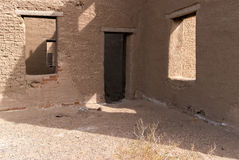 Architectural details, Fort Churchill State Park in Nevada Stock Photography