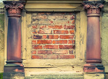 Architectural details Stock Image