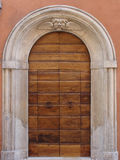 Architectural details of historic buildings.  Italy Stock Photo