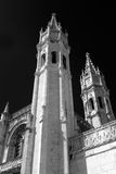 Architectural details of Jeronimos Monastery Royalty Free Stock Photos