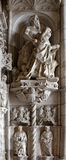Architectural details of Jeronimos Monastery Stock Images