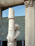 Architectural details of Jesus tied to a column Sculpture Royalty Free Stock Photo