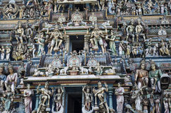 Architectural details of Kapaleeshwarar temple at Mylapore,Chennai,Tamilnadu,India Stock Images