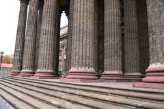 Architectural details of the Kazan Cathedral Royalty Free Stock Photos