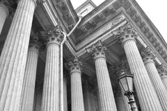 Architectural details of the Kazan Cathedral Royalty Free Stock Image