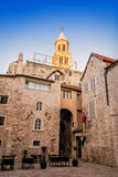 Architectural details in the old town of Split Stock Image