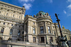 Architectural details of Opera National de Paris Royalty Free Stock Photography