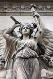 Architectural details of Opera National de Paris Stock Photos