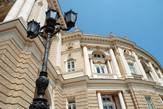 Architectural details. palace Stock Photography
