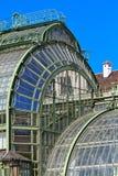 Architectural details of Palmenhaus Vienna Stock Photos
