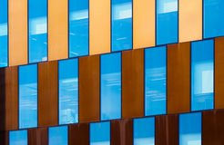 Architectural Details at Salford Quays, England Stock Image