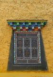 Architectural details of songzanlin monastery. Architectural details of songzanlin tibetan monastery, shangri-la, china Stock Photo